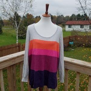 Lane Bryant Color Block Sweater